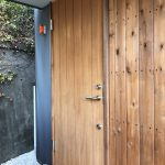 木製玄関扉メンテナンス