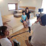 六ッ川の家 TV撮影
