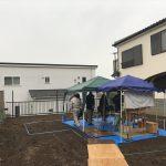 上永谷の家 地鎮祭