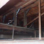 小屋裏構造の補強?