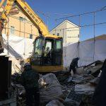 馬絹の家  解体工事