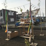 綾瀬の家  地鎮祭