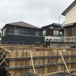 馬絹の家  基礎工事
