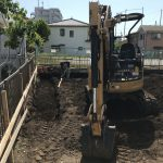 綾瀬の家  掘り方