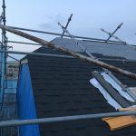 馬絹の家  屋根工事