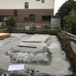 鵠沼の家  捨てコンクリート