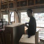 三宿マンションリフォーム  家具工事