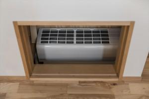床下エアコン全館空調システム