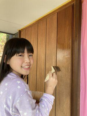 木製玄関扉のメンテナンス